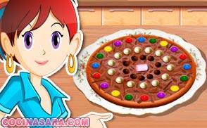 Juegos de hacer pizza Cocina con Sara